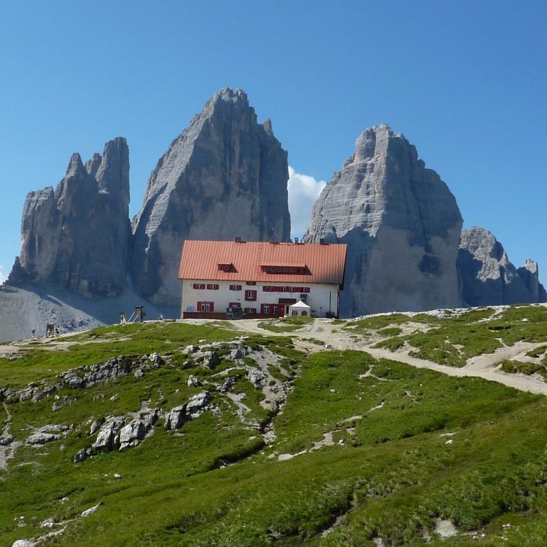 Dreizinnenhütte (Rifugio Antonio Locatelli)
