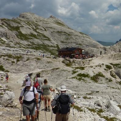 Büllelejochhütte (Rifugio Pian di cengia)