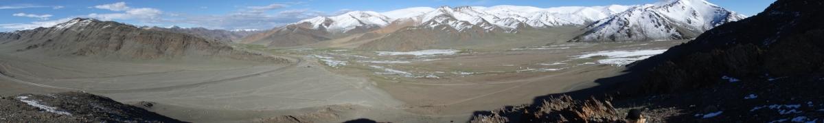 Das Altai-Gebirge der Westmongolei