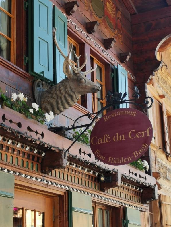 schöne alte Gasthäuser...